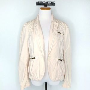 Marc Jacobs Lightweight Cotton Blazer Size 12